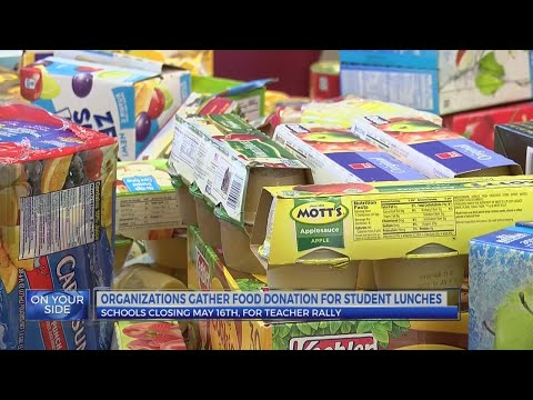 Pitt County school requests food donations for students ahead of teacher rally