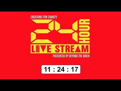 Join us on the Creations for Charity 24-Hour Live Stream!
