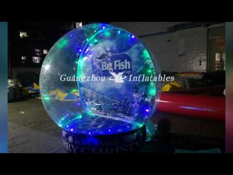 Inflatable Display Ball, Inflatable Show Globe or Inflatable Snow Ball for Christmas