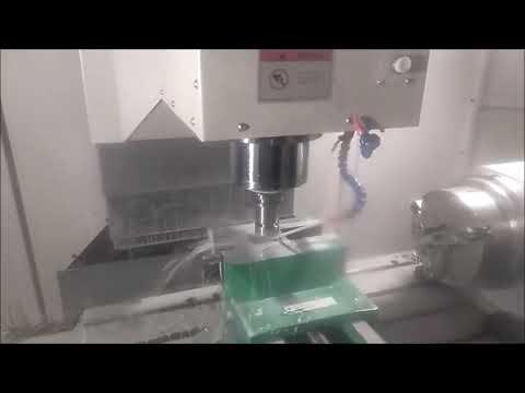 Испытание модуль Imachining SolidCAM на станке Solex. Testing Imachining On A Solex