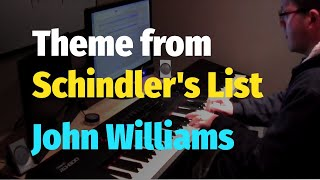 "Theme from ""Schindler's List"" Soundtrack (John Williams) - Piano"