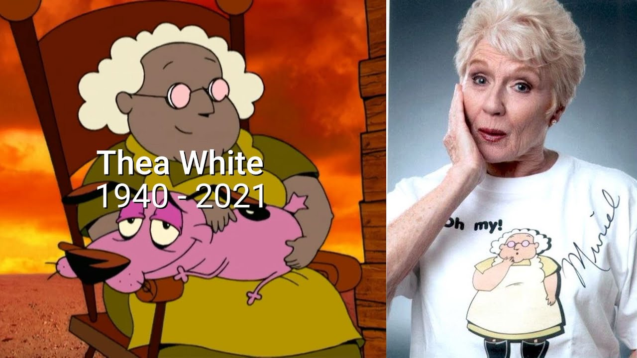 Thea White, voice of Muriel in 'Courage the Cowardly Dog,' dead at ...