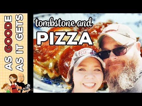 Crockpot Crustless Pizza // Tombstone, AZ // RV Living