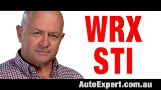 2018 Subaru WRX STI Review Auto Expert John Cadogan Australia