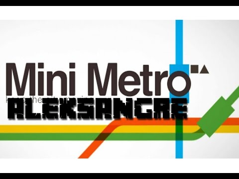 Mini Metro - Android gameplay en Español HD - ALEKSANGRE