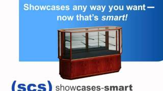 Showcases Smart Flip Cards Display Case