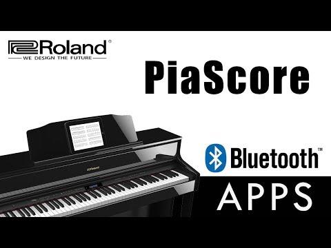 PiaScore FREE Digital Music App for Bluetooth 2018