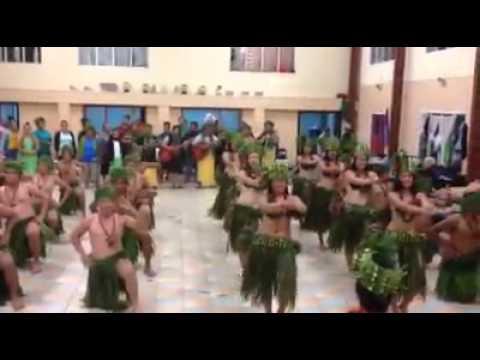 Mangaia Enua kapa rima rehearsal.. 2015