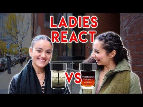 LA NUIT DE L'HOMME EDP Vs. EDT (Women's Reactions To YSL Fragrance/Cologne)