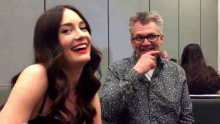 Jeffrey Bell and Mallory Jansen for Agents of SHIELD at Wondercon 2017!
