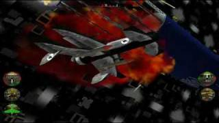 Crimson Skies Playthrough (PC) Mission 24 HARDEST mode (Battle over broadway)