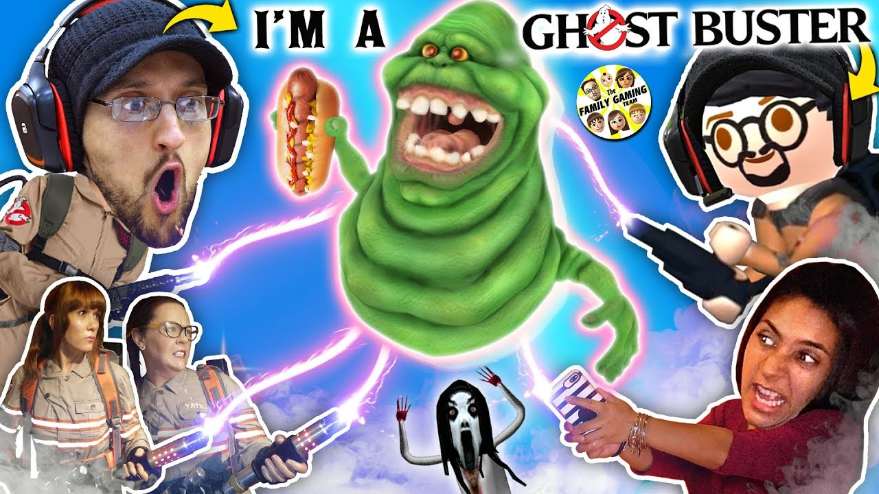 Ghost Busters In Real Life Slimer No Like Party In Elevators