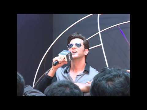 Hrithik Roshan Visits Rado Showroom at Forum Sujana Mall