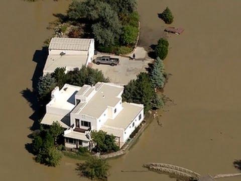 VP Biden Tours Colo. Flood Areas