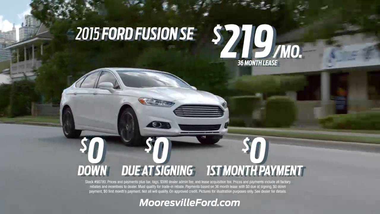Mooresville Ford   Sign And Ride