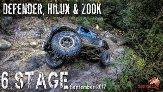 4x4 | Six Stage | Yalwal | 4wd Hilux Defender & Zook on 6 Stage  | ALLOFFROAD #