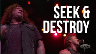 "Metallica ""Seek & Destroy"" cover by Gary Holt, Chris Jericho, Chuck Billy + Metal Allegiance live"