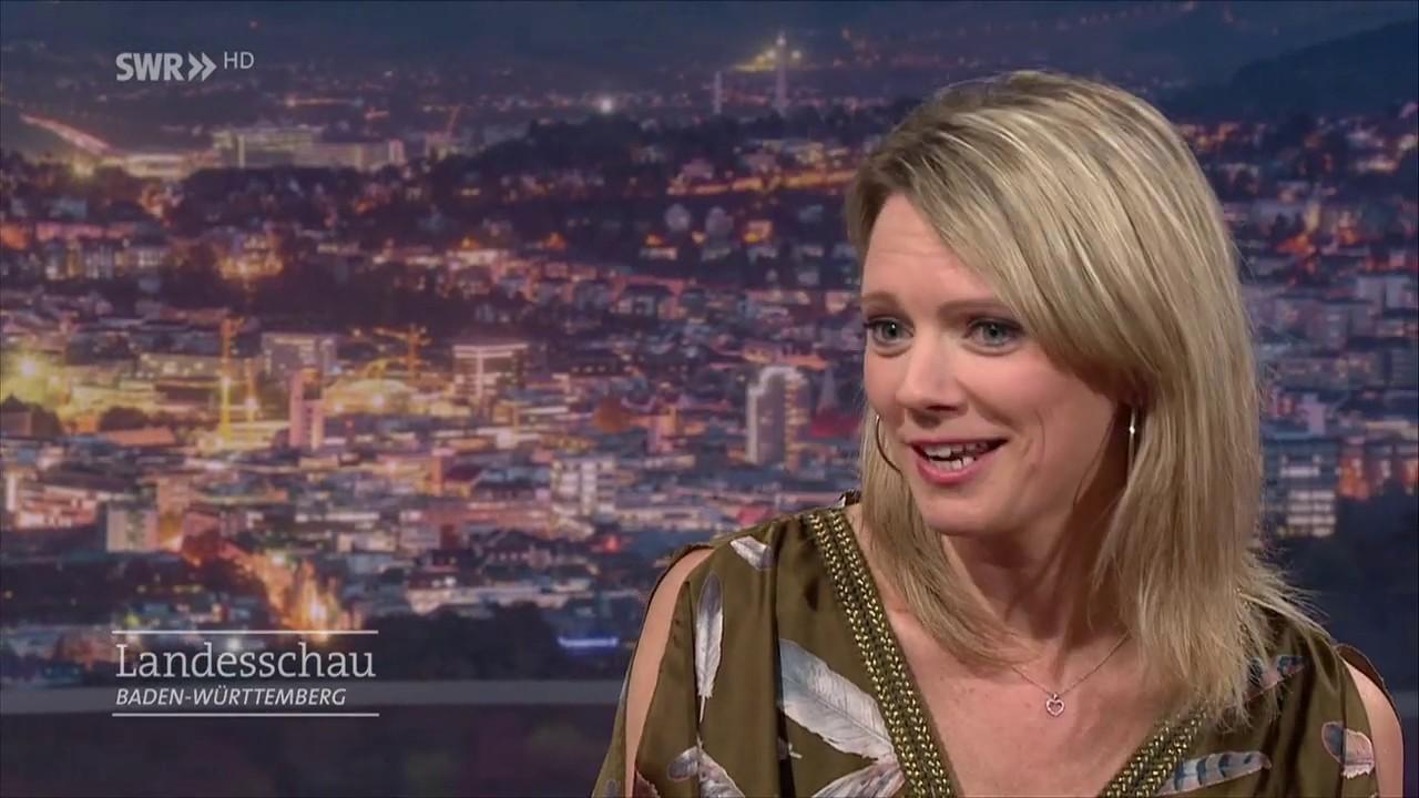 Susanne Nett Gast Landesschau BW 21-02-2018 HD - YouTube
