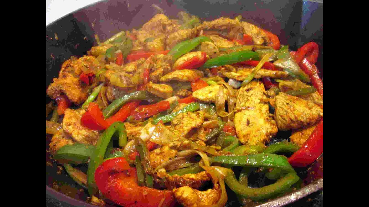 The Best Mexican Chicken Fajitas Recipe Cooking Chicken