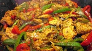 The Best Mexican Chicken Fajitas Recipe- My Way