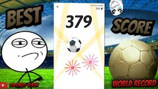 WORLD RECORD! Messenger Football !(30 000 views?) Facebook soccer : 379! / record du monde highscore