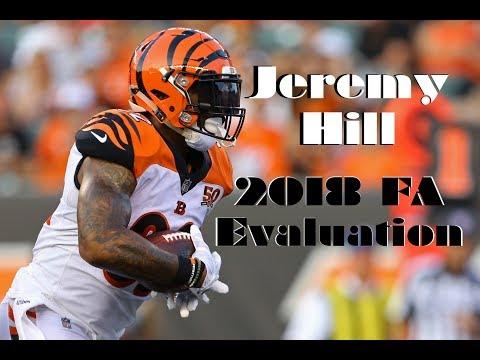 Jeremy Hill: 2018 Free Agency Evaluation