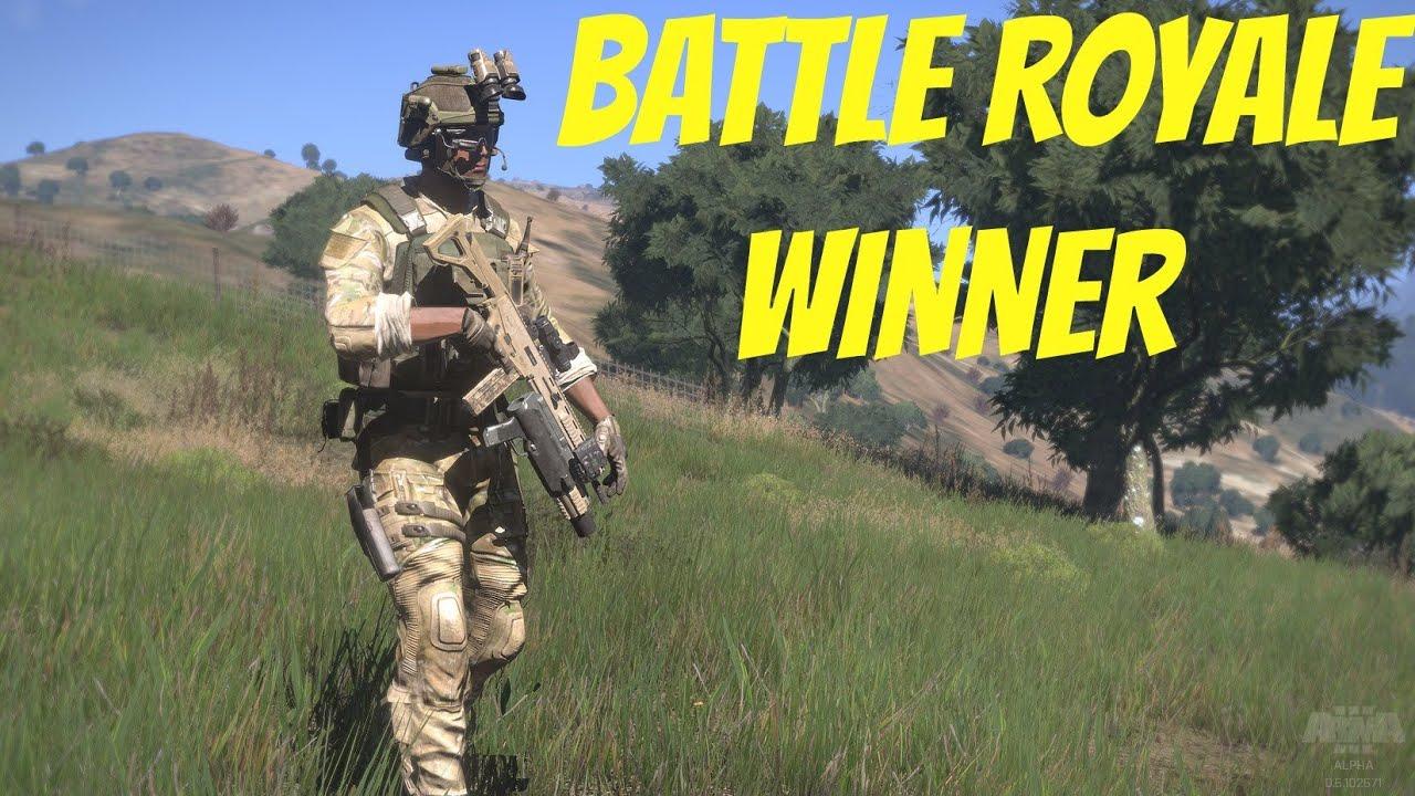 Check Out This Awesome Winner Winner Chicken Dinner: Arma 3 Battle Royale Winner Final 6 Kills- (Chicken Dinner
