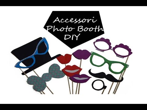 Accessori photo booth fai da te youtube for Cavalletto alzamoto fai da te