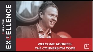 Keynote: The Conversion Code - #CuraytorExcellence
