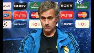 Ajax de Àmsterdam: Rueda de prensa de Josè Mourinho
