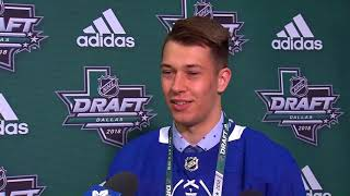 Maple Leafs Draft Central: Zachary Bouthillier - June 23, 2018