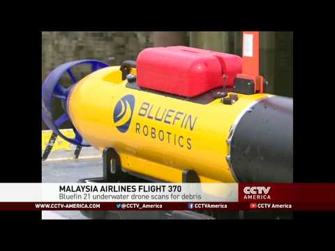 Flight MH370: Bluefin 21 Underwater Drone Scans for Debris