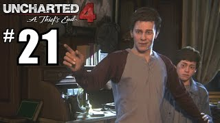 Uncharted 4: A Thief's End Gameplay Walkthrough Part 21 - PS4 1080P