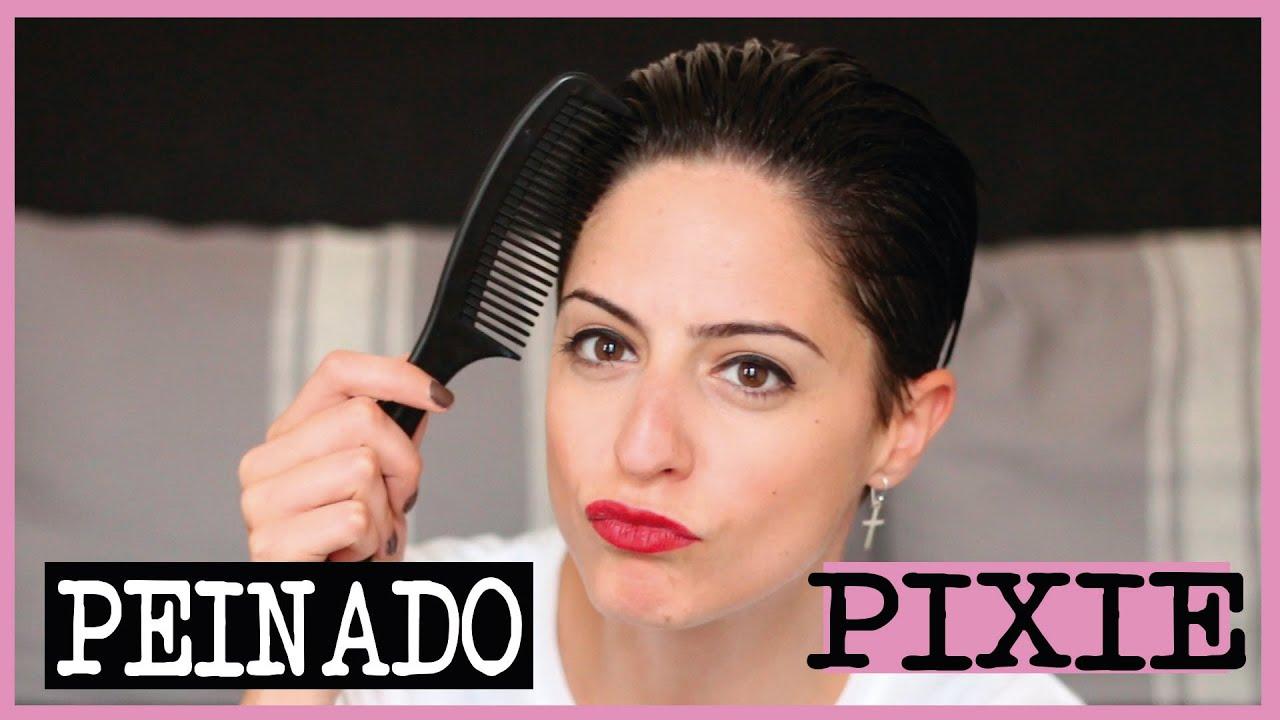 Corte De Pelo Pixie Peinado Zadeth Laura Youtube