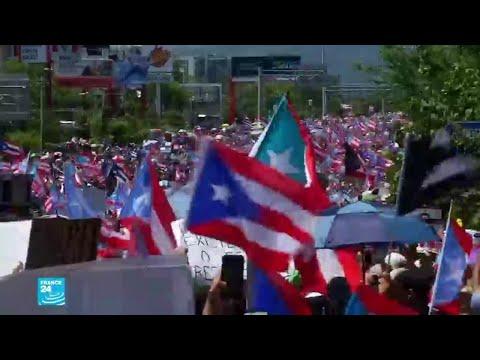 آلاف المتظاهرين يطالبون باستقالة حاكم بورتوريكو  - نشر قبل 20 ساعة