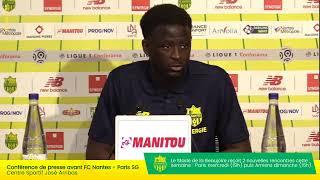 LIVE  - FC Nantes  Paris Saint-Germain | Conférence de presse d'avant-match