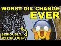 SLUDGE! 13 Year Late Oil Change & First Start   Daihatsu Cuore Avanzato TR XX R4 Project Episode 2