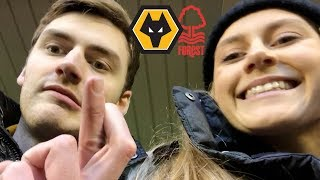HOW DOES ONE LOSE?? Wolves Vs Nottingham Forest Matchday Vlog!