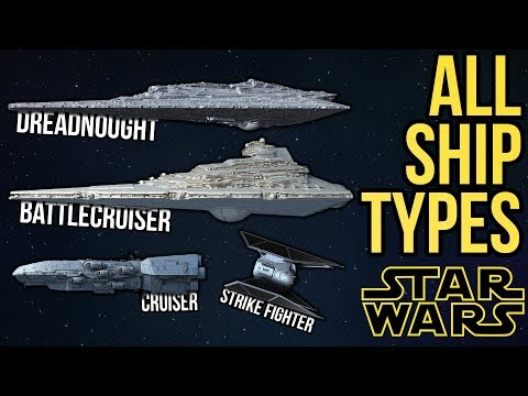 ALL Ship Types And Classes In Star Wars Legends & Canon