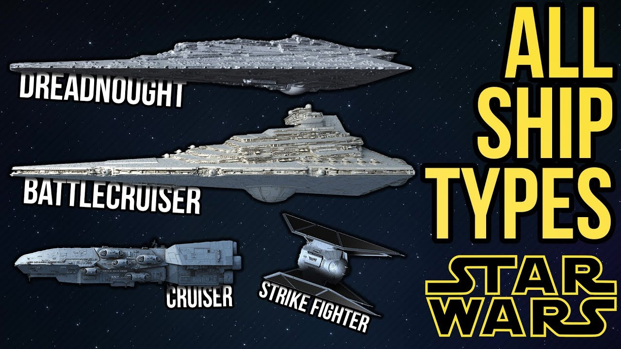 All Ship Types And Classes In Star Wars Legends Amp Canon