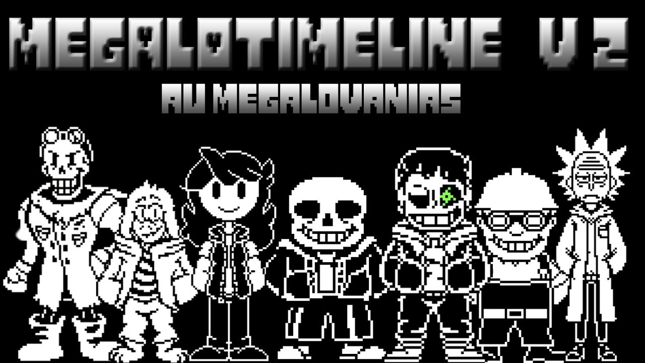 Megalotimeline V2 Megalovania Aus V3 Youtube