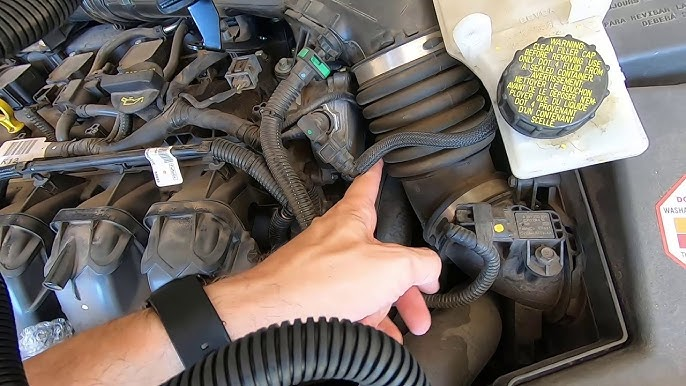 2013 Ford Escape P1450 Check Engine Purge Valve Replacement Youtube
