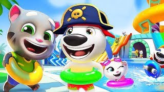 Talking Tom Pool - Match The Colors Fun Puzzle Game - Gameplay Videos