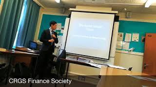 CRGS Finance Society on Social Wealth Fund