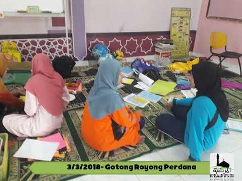 Gotong Royong Perdana Imarah Surau 2018