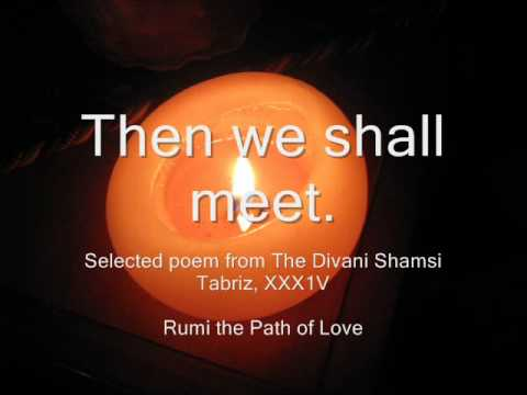 Beloved Rumi Poem With Candles Flowers Art Youtube