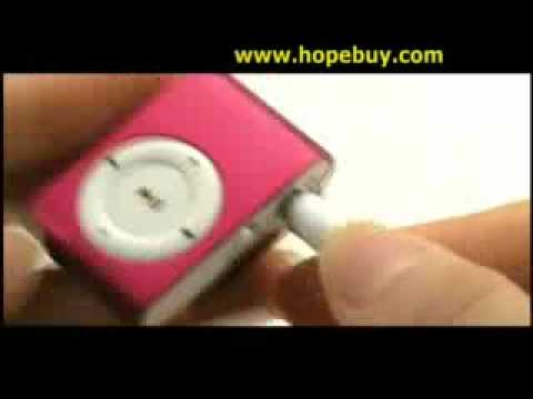 Mini MP3 Multimedia Player (Red)