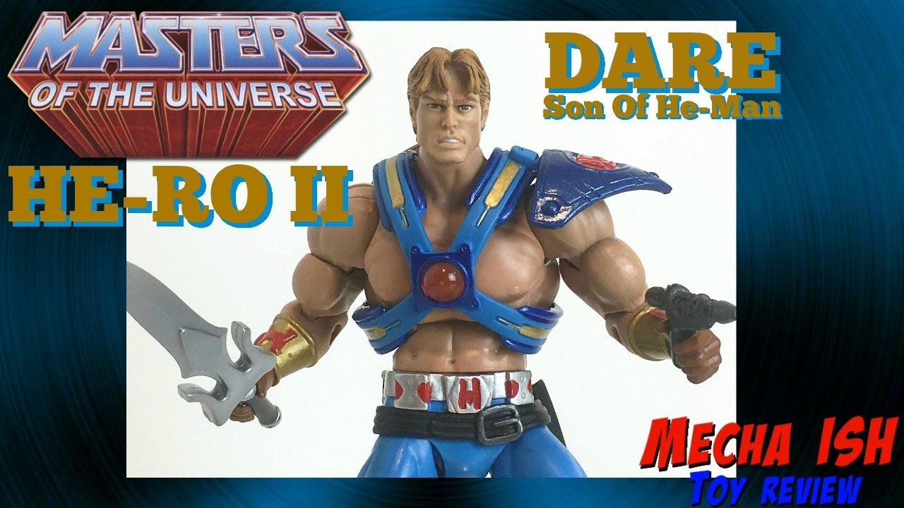 Mattel Masters of the Universe Classics MOTUC Dare He-Ro II New