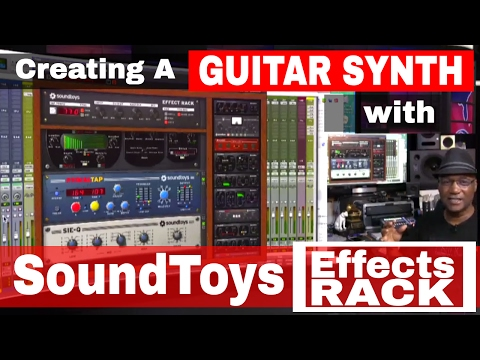 [Mixing Academy] Creating A Guitar Synth With Soundtoys Effects Rack On Acoustic Guitar