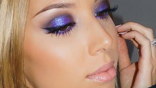 Purple Smokey Eye Tutorial!
